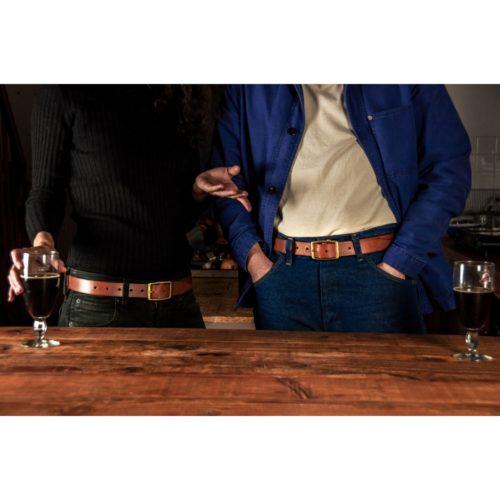 acheter ceinture en cuir made in france durable