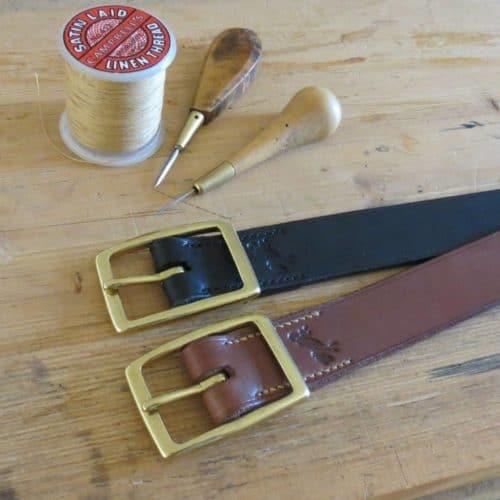ceintures en cuir garanties à vie made in france